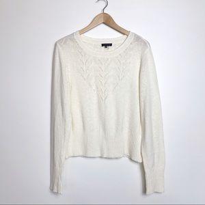 NWOT 1. State Cream Lightweight Sweater - XL